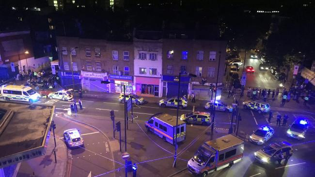 Vehicle Hits Pedestrians in London; One Person Arrested